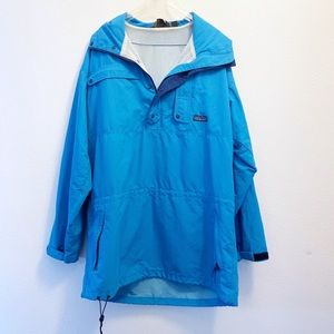 Patagonia Nylon Half Zip Pullover Hoodie Size M
